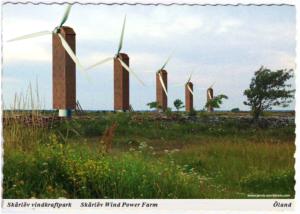 skärlöv vindkraftpark vykort