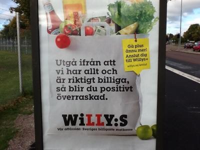 willys affisch