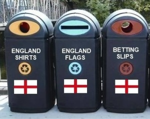 english recycling bins