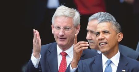 obamafinger till bildt