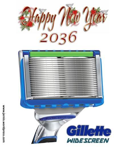 gillette widescreen 2036
