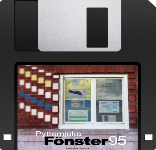 fönster 95 floppy